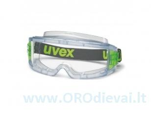 Apsauginiai UVEX Ultravision, plataus matymo akiniai