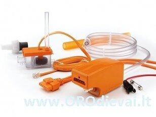 ASPEN mini orange Silent+ drenažo siurbliukas