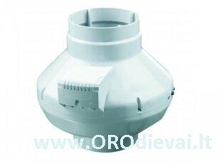 Aukšto slėgio Ø125 išcentrinis ventiliatorius Vents VK125