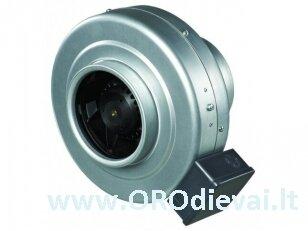Aukšto slėgio Ø125 išcentrinis ventiliatorius Vents VKMZ125