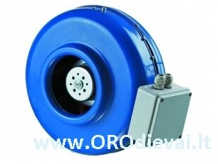 Aukšto slėgio Ø200 išcentrinis ventiliatorius VKM200EC su EC varikliu