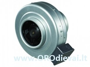Aukšto slėgio Ø250 išcentrinis ventiliatorius Vents VKMZ250