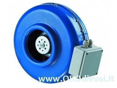 Aukšto slėgio Ø250 išcentrinis ventiliatorius VKM250EC su EC varikliu