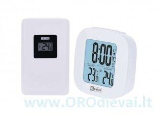 Bevielis skaitmeninis laikrodis-termometras EMOS E0127