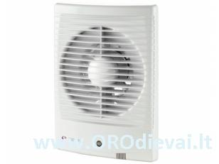 Buitinis ventiliatorius Vents 100M3V su jungikliu, virvele