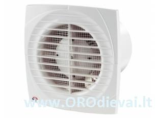 Buitinis ventiliatorius Vents 150DT su laikmačiu