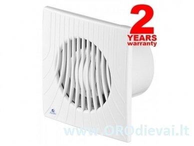 Buitinis vonios ventiliatorius su virvele Awenta WA120W