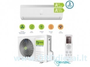 Crystal šilumos siurblys/oro kondicionierius 12S (3,5 kW)