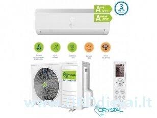 Crystal šilumos siurblys/oro kondicionierius 09S (2,6 kW)