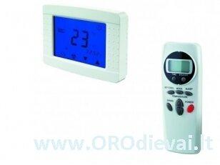 Daugiafunkcinis temperatūros valdiklis su nuotolinio valdymo pulteliu Vents TSTD-1-300 HVAC sistemos