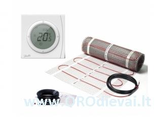 Elektrinis šildymo kilimėlis DEVIcomfort 150T (DTIR) + termostatas ECtemp Next Plus