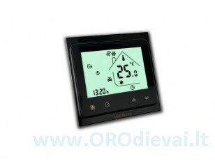 Elektroninis programuojamas termostatas (termoreguliatorius) Wellmo WTH51.36 NEW BLACK