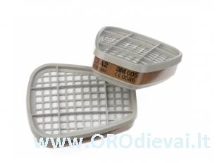Filtras 3M 6055 skirtas veido kaukei arba puskaukei