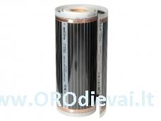 Grindų šildymo plėvelė HeatPlus (infraraudonųjų spindulių), plotis 80 cm