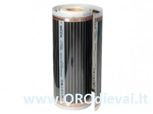 Grindų šildymo plėvelė HeatPlus (infraraudonųjų spindulių), 220 W, plotis 100 cm