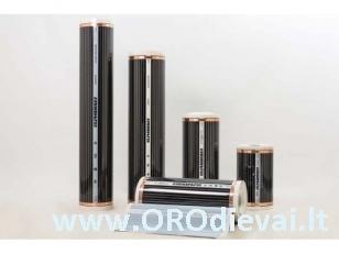 Grindų šildymo plėvelė HeatPlus (infraraudonųjų spindulių), plotis 40 cm