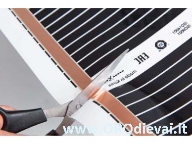 Grindų šildymo plėvelė HeatPlus (infraraudonųjų spindulių), plotis 50 cm 2