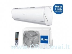Haier Jade Plus 2,6kW oro kondcionierius / šilumo siurblys oras-oras AS25S2SJ1FA-3/1U25MECFRA-3