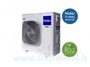 Haier monoblokas 5kW šilumos siurblys oras-vanduo AU052FYCRB(HW)+YR-E27+ATW-A01