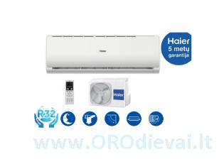 Haier TUNDRA Plus 3,6kW oro kondicionierius / šilumos siurblys oras-oras AS35TADHRA-CL/1U35MEEFRA