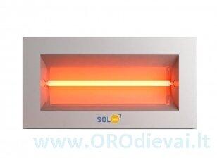 Infraraudonųjų spindulių šildytuvas SolBee SBH 15 C White (1,5 kW, 2 m kabelis su kištuku)