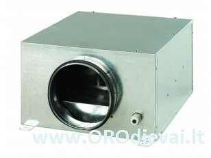 Išcentrinis Ø100 ventiliatorius Vents KSB100 su garso ir šilumos izoliacija