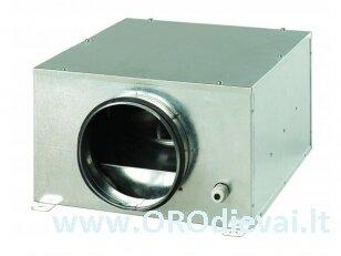 Išcentrinis Ø200 ventiliatorius Vents KSB200S su didelės galios varikliu, garso ir šilumos izoliacija