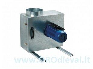 Išcentrinis Ø250 ventiliatorius Vents KSK2504E su garso ir šilumos izoliacija