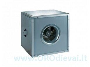Išcentrinis Ø630 ventiliatorius VS630S-4D su garso ir šilumos izoliacija, didelės galios elektros varikliu
