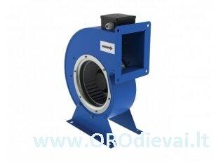 Išcentrinis vienpusis Ø180 ventiliatorius VCU2E180x92 spiraliniame korpuse