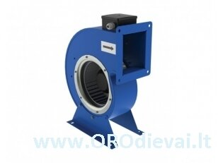 Išcentrinis vienpusis Ø200 ventiliatorius VCU2E200x102 spiraliniame korpuse