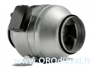 Kanalinis ventiliatorius Jetline Ø160 mm