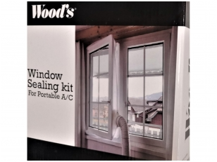 Lango tarpinė mobiliems kondicionieriams Wood's