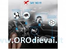 Paslauga lengvojo automobilio dezinfekcija (ozonavimas)