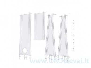 Lifetime Air universalios lango tarpinės mobiliam oro kondicionieriui 6