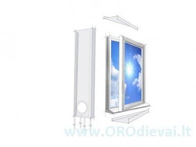 Lifetime Air universalios lango tarpinės mobiliam oro kondicionieriui 3