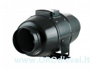 Mišraus tipo Ø125 ašinis-išcentrinis ventiliatorius Vents TT SILENT-M125 su garso izoliacija