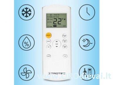 Mobilus oro kondicionierius Trotec PAC 2600 X ir lango tarpinė Trotec AirLock 100 4