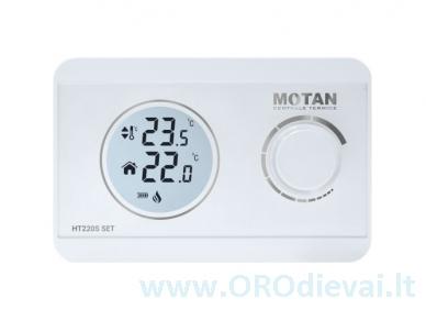 Motan HT220S SET belaidis kambario termostatas 2