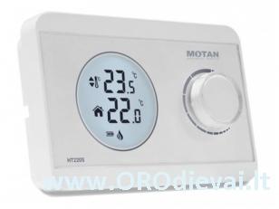 Neprogramuojamas skaitmeninis termostatas su laidu Motan HT220S