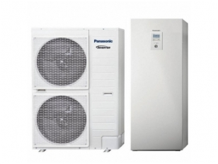 Šilumos siurblys oras - vanduo PANASONIC Aquarea H GENERATION ALL IN ONE BI-BLOC T-CAP KIT AXC12HE8