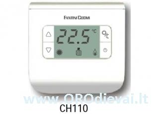 Patalpos termostatas FantiniCosmi FC-CH110