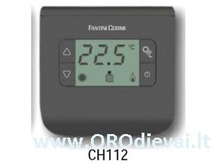 Patalpos termostatas FantiniCosmi FC-CH112