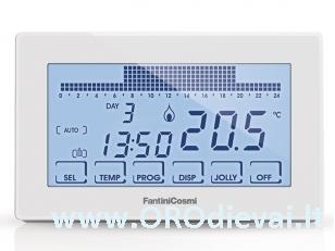 Patalpos termostatas FantiniCosmi FC-CH180