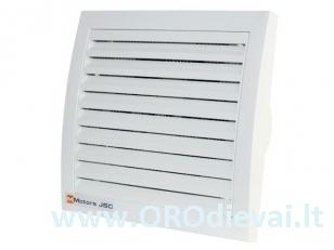 Tylus MMotors ventiliatorius su guoliais MM 100/60 kvadratinis be laikmačio