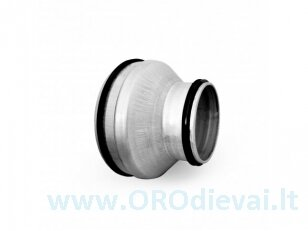 Plieninis perėjimas Ø160x100mm RPCL160x100
