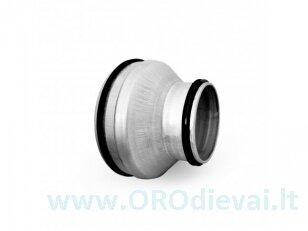Plieninis perėjimas Ø160x125mm RPCL160x125