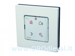 Šildymo valdymo sistema Danfoss Icon, termostatas 230V, programuojamas, virštinkinis