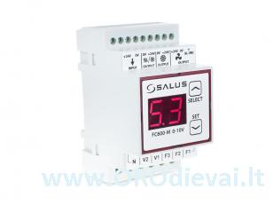 Reguliatorius fankoilų valdymui Salus FC600-M 0-10V
