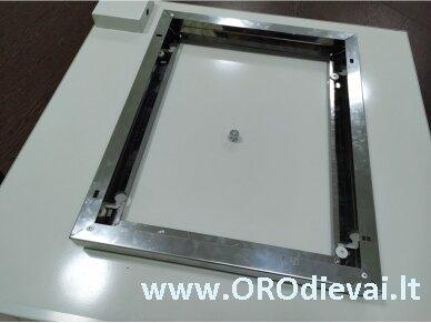 SWPO šildytuvo tvirtinimo elementas prie lubų 300x300mm 3